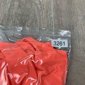 lululemon athletica Jackets & Coats - Lululemon Coral Zip Front Hood Peplum Jacket G3261